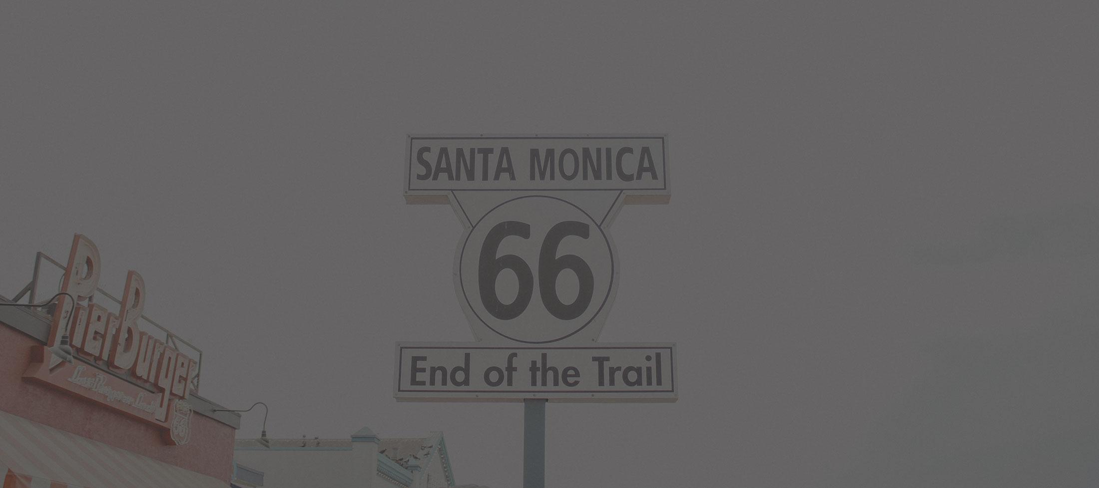 Im Cabrio auf der Route 66